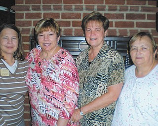 The Mill Creek Chapter of the American Business Women's Association recently voted for officers for the 2012-2013 year. Elected at the May 8 meeting were, from left, Joyce Billock, treasurer; Marilyn Abramski, secretary; Joan Lucansky, vice president; and Shirley Pappagallo, president. Their term will run from August through July, 2013.
