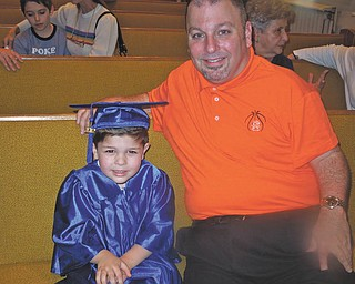 Michael J. Dunn sent in this photo of him and his son Michael W. Dunn.