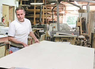 Andre Silver's Cabinet Makers is known for accuracy and craftsmanship.