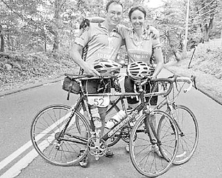 Team Bannon — Breen and Lisa Bannon — are preparing to ride July 20-22 on their fourth Tri-State Trek, a three day, 270-mile bike ride from Boston to Greenwich, Conn., to raise awareness about amyotrophic lateral sclerosis and funds for research. The siblings, Lisa of New Jersey and Breen of Youngstown, ride in honor of their brother, Chuck Bannon, who died of ALS, also known as Lou Gehrig's disease, in 2009 at age 44.