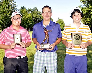 Champ Dom Carano, Canfield, is joined by Jason McQuown, Poland, and James LaPolla, Warren JFK, as finalists for the U17 Boys division.