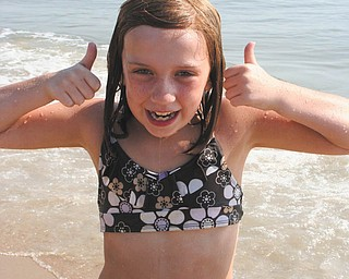 Donna Zagotti of Canfield submitted this photo of her daughter, Hope Zagotti, which was taken in Fenwick Island, Del., in August 2010.
