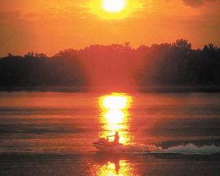 Brenda Pearson of North Benton took this photo at Berlin Lake to remember the summer.