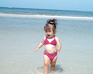 Marissa enjoys the beach in Fort Myers, Fla. Photo sent in by Kelly Alexander.
