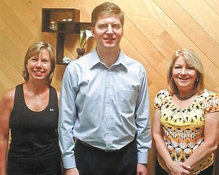 Ohio Naturopathic Wellness Center is still accepting registrations for its 5K run, 2 mile walk Aug. 11 to benefit Make A Wish. From left to right are the center's representatives, Joanne Maloney, certified fitness trainer, Dr. Ted Suzelis, N.D., and Stephanie Dangerfield, office manager. The benefit will take place at Mill Creek MetroParks Bikeway, Kirk Road Trailhead, Canfield, beginning at 7:30 a.m. Sponsors include Fitness with JoAnne, Healthy Treasures Health Food Store, Massage Cafe, The Vindicator, Arbonne, New Hope Imaging, Marucci Chiropractic, Spirit Fluid LLC and Questar Inc. There also will be a basket auction. Race entry fee is $15 in advance and $20 on race day. For information or to register for the event, visit OhioND.com/Race or call 330-729-1350.