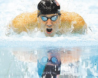 Amercia's Michael Phelps earned his record-16th gold medal — the 20th medal of his Olympic career — at the Aquatics Center in Olympic Park in London on Thursday in the men's 200-meter individual medley and became the first man to win an individual swimming event at three consecutive Games. United States athletes racked up eight medals Thursday to surpass China in the medal count.