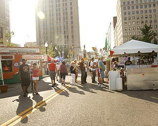The Greater Youngstown Italian Festival on August 4, 2012.