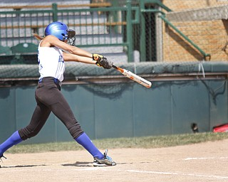 Abby Masluk makes a hit for Poland on August 8, 2012.