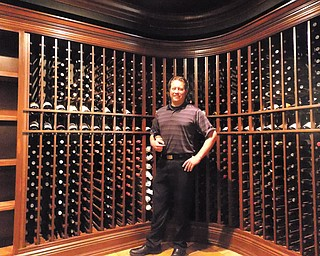 Brian Henderson, Wine Director for Avalon Golf and Country Club.