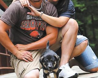 Scott Jakubek and Marie McBride