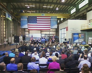 White House officials this morning announced a $30 million investment to form a manufacturing hub in Ohio aimed at boosting technology in a three-state region.  Its main hub in Youngstown  is scheduled to launch by September.