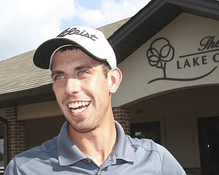 William D. Lewis The Vindicator  Anthony Conn winner  at Lake Club Sunday.