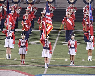 Austintown Fitch Marching Band pre-game