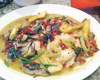 Carmella's Cafe offers a tasty Chicken Carmella