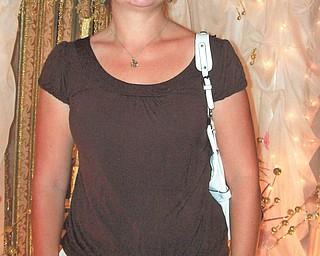 Erin Dean of Austintown. Photo sent in by Diane Hammar of Poland.