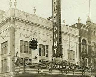VINDICATOR FILE PHOTO...The former Liberty Theater looked like this in July 1929 when it reopened as the Paramount Theater.