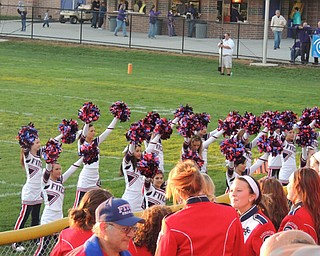 Fitch cheerleaders
