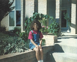 Frankie Hoffman was a third-grader at South Range when she sported this wicked perm. according to her mom, Vicky Hoffman of North Lima, Photo submitted by her mom,who submitted the photo.