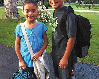 Alan and Alayna Cuevas are the children of Alan and Sara Cuevas of Boardman.
