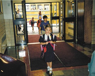 Melissa Pregi sent this picture of her, daughter, Liana, on her first day in kindergarten at West Boulevard in Boardman in September 2003.