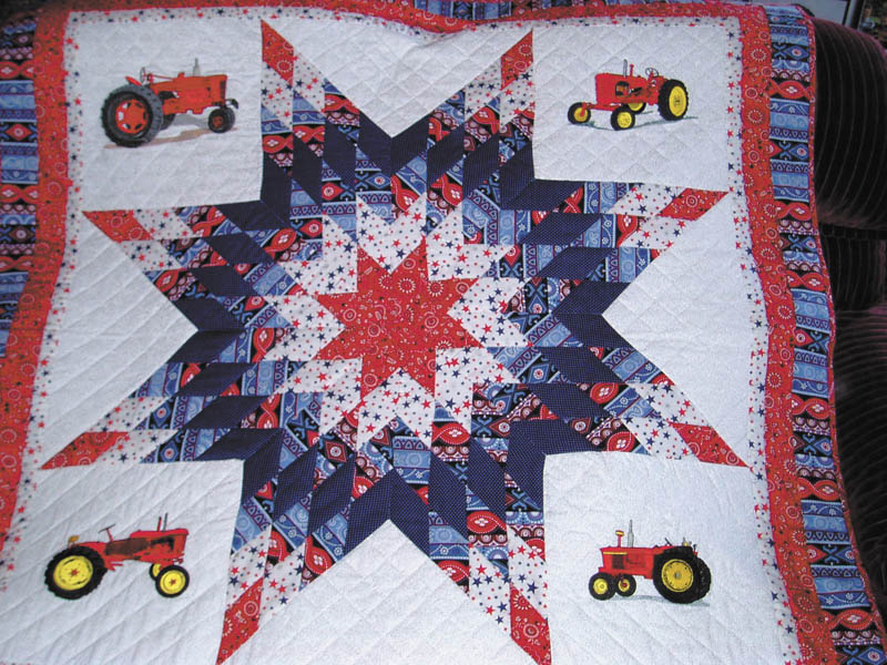 A hand-made tractor wall hanging will be raffled off at the Pumpkin Festival Sunday at Columbiana County Fairgrounds. Tickets are $1 each or six for $5, and the winner need not be present. For information call 330-222-1914.