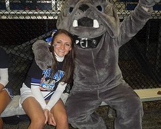Senior Katie Rubesa and our Poland Bulldog (Michael Sebastian)