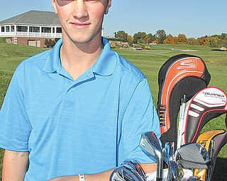 Leetonia senior golfer Luke Janci is preparing for his first appearance at the state tournament. On Tuesday, he