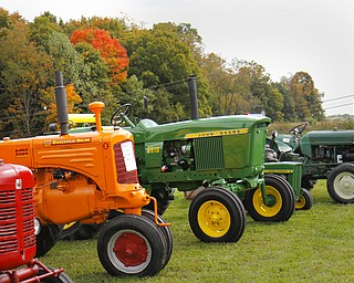 MADELYN P. HASTINGS | THE VINDICATOR  An autumn festival was held at Beaver Township Nature Preserve which had many tractors and wildlife on display for children.