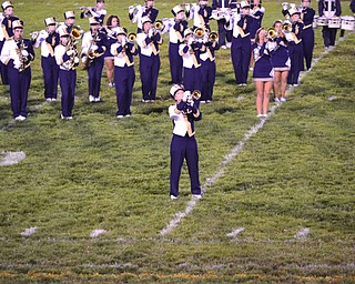 Lowellville Senior Rachel Durbin's halftime trumpet solo at friday's game against Columbiana  to Queen's Bohemian Rhapsody