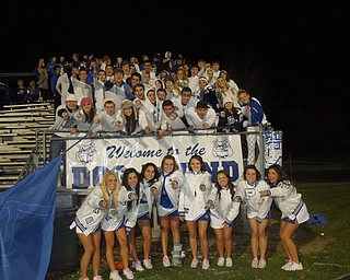 Poland Varsity Cheerleaders and Dog Pound vs. Youngstown East