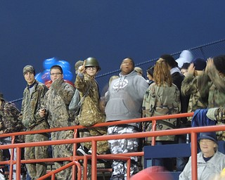 Fitch spirit club - All their energy needed to help spur the falcons past the cardinals!