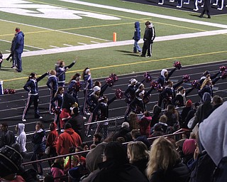 Fitch cheerleaders - All their energy needed to help spur the falcons past the cardinals!