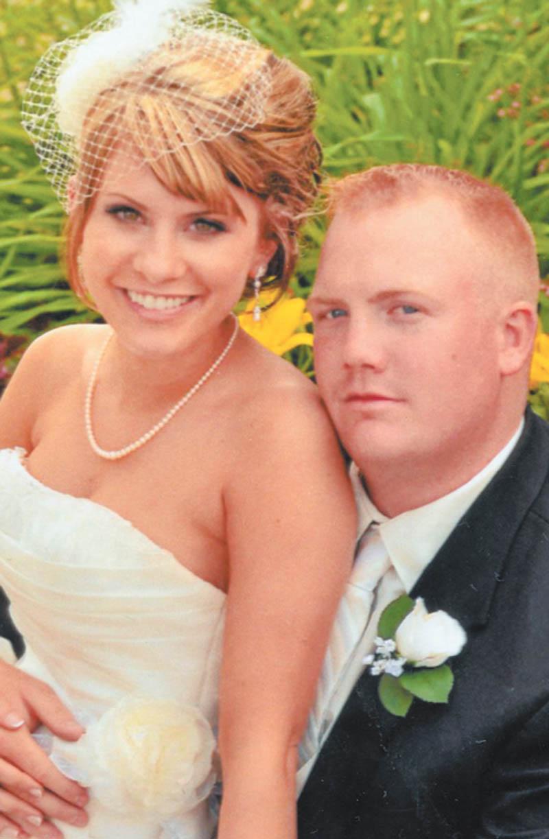 Megan Sponcil and Christopher Kline