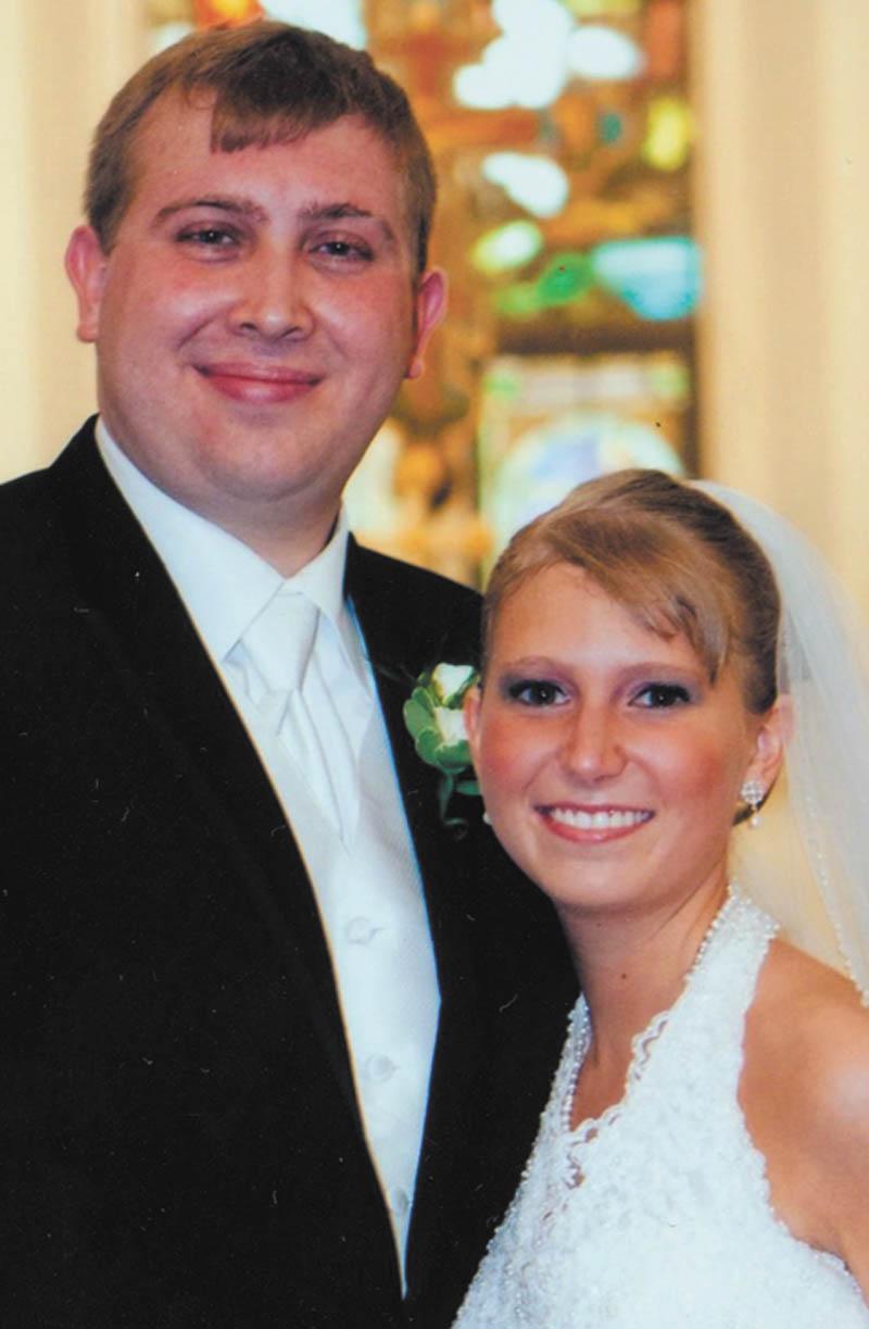 Stephanie Gilida and Matthew White