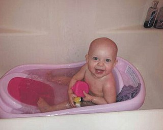 Diane Burda shared a picture of the source of the greatest joy in her family this year, their first grandchild. Little Sylvie, who was born in January and lives in San Diego, is experiencing one of her favorite things, bath time! Grandma says her face says it all. (She also says if you look closely, you can see two of the cutest little teeth ever!)