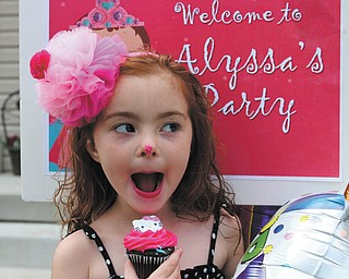 Alyssa Thomas, daughter of Kristi and Bob Thomas of Poland, is the birthday girl. The photo was taken and submitted by Grandma Gena Murray.