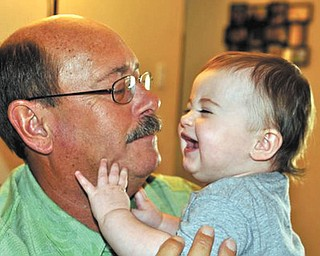 Molly Fisher of Tempe, Ariz., gives Grandpa Dave Dickey so much joy!