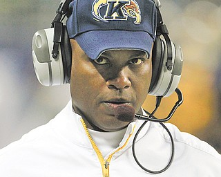 It became official Wednesday: Kent State coach Darrell Hazell was named the 35th football coach of the Purdue Boilermakers.