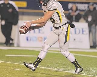 Junior Vince Penza, shown in action during a game against Cincinnati on Oct. 20, will handle the punting