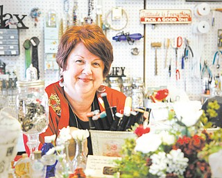 Brenda Lansdowne owns B'Sue Boutiques in East Palestine, a jewelry store. B'Sue Boutiques is among six businesses that opened in the town of 5,000 people in the past two months.