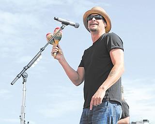 Singer Kid Rock performs in Homestead, Fla., last month.