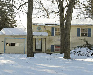 The Austintown Zoning Office is set to demolish this house at 3889 New Road once it approves a bid for the demolition. Nine houses are set to be demolished as part of a program this year, funded by a Moving Ohio Forward grant. Two of the houses are under the Mahoning County domain, proposed to be demolished with Neighborhood Stabilization Fund monies.