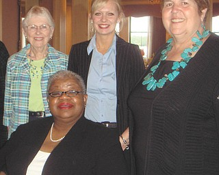 Members of the League of Women Voters of Greater Youngstown are planning their annual Legislative Brunch at 10 a.m. Saturday at Youngstown Country Club, 1402 Country Club Drive. The event is open to the public, and the program will feature issues of school finance and reform of Congress and the Senate. Admission will be $22.50 for members and $25 for nonmembers. For reservations send a check payable to LWVGY to Karen Lazarus, 4213 Glenwood Ave. #1, Youngstown, OH 44512, or call 330-788-8946. Among those planning the event are, standing from left, Marion Gillette, Michelle Simonelli and Kathleen Dragoman, and, seated, Corliss Green. For league information visit www.lwvy.org, email info@lwvgy.org, call 888-781-1176 or go to League of Women Voters on Facebook.