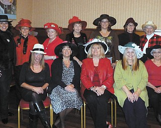Plans are under way for the 27th annual Trumbull County Women's History Celebration. Committee members seated from left are Heather Sarko, Renee Maiorca, chairwoman Esther Gartland, E. Carol Maxwell and Roz Jackson. Standing are Stephanie Furano, Theresa Salcone, Judie Hartley, Eddie Wolcott, Beky Davis, Pam Hallett and Martha Ellers. Committee members not shown are Irene Buccino and Julie Vugrinovich.
