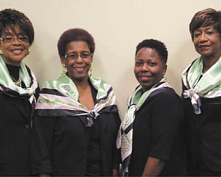 The Snowflake Ball will be Saturday at the Regency House. Epsilon Mu Omega Snowflake Ball committee members, from left, are Annie Constant, chapter president; Sandra Smith-Graves, co-chairwoman; Robin Bradley, treasurer; and Carole Prestley, hostess. Not pictured are Beverly Fortune, co-chairwoman; Alnita Bryant-Russell and Carol Herian.