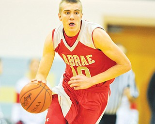 LaBrae junior Peyton Aldridge has honed his game in the off season by playing with one of Ohio's top AAU teams