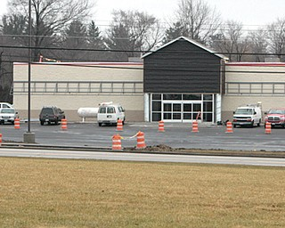 Construction work continues on a new Tractor Supply Co. store in Austintown. The 19,000-square-foot store is at 6225 Mahoning Ave., and a tentative opening is scheduled for May 25.