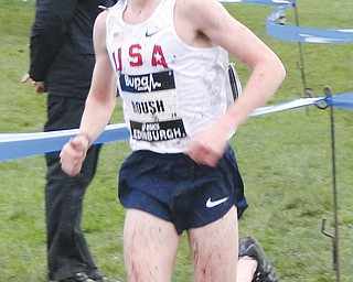 Canfield's Ryan Roush, a former South Range High track and field/cross country standout and Malone University's highly-touted freshman distance runner, was one of only a handful of runners nationally selected to participate in Team USA competitions in Scotland and Jamaica.