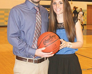 Adam Lewis has been coach of the girls basketball team at Lakeview High School for four years, and his wife, Sarah Brugler-Lewis has been at his side as assistant coach since.