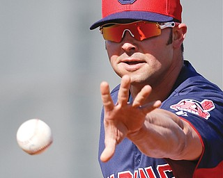 Ohio native Nick Swisher says he is happy to be playing baseball with the Cleveland Indians.